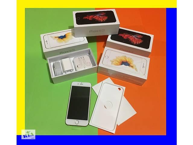 бу IPhone 6s 16Gb gold New в заводских пл.; Оригинал; Неверлок; Айфон 6с; +подарок в Хмельницькому