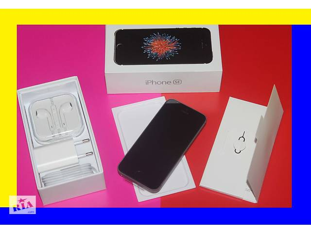 бу Iphone SE 32gb space gray [new в заводс.плёнке] оригинал neverlock айфон (без предоплат в Хмельницком