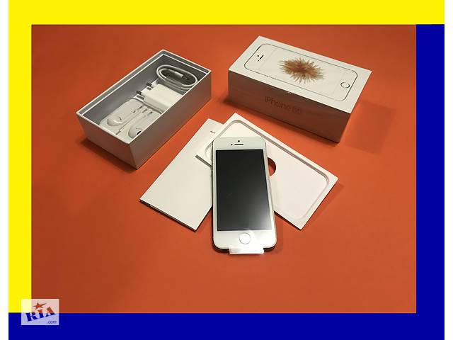 IPhone SE 16Gb Gold [NEW в заводской плёнке]оригинал NEVERLOCK  (без аванса (+подар. стекло айфон- объявление о продаже  в Хмельницькому