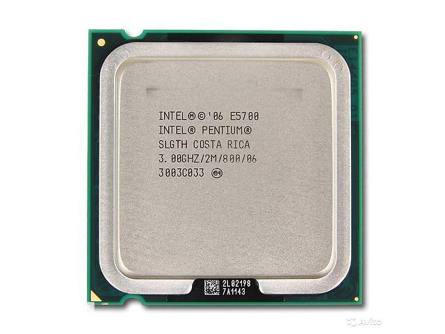 купить бу Intel Pentium Dual Core E5700 (3.0 GHz,2M Cache,800 MHz FSB) LGA 775 в Виннице