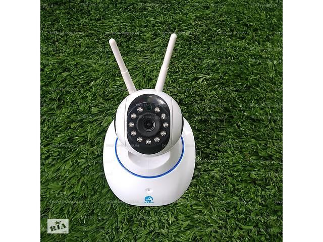 Беспроводная поворотная WiFi IP 1мп камера видеонаблюдения видеоняня HD 720P camera wi-fi 1mp 2 антены- объявление о продаже  в Херсоні