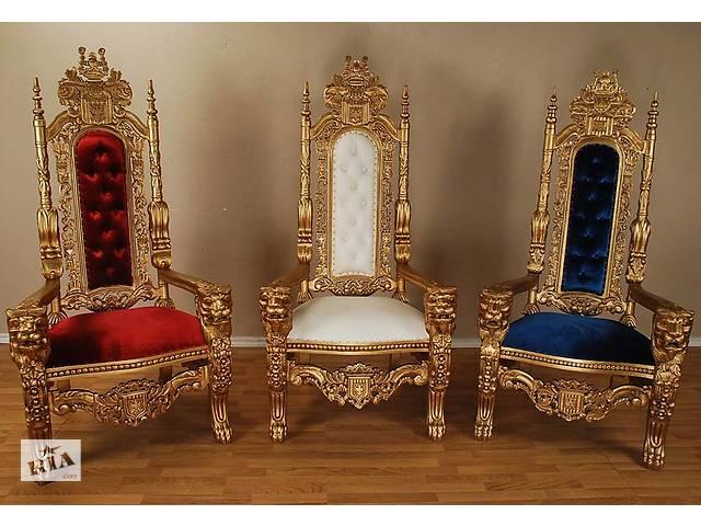 купить бу Кресло трон барокко IMPERIALE в Ужгороде