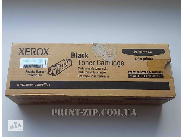 продам Картридж Xerox Phaser 6130 Черный оригинал бу в Киеве