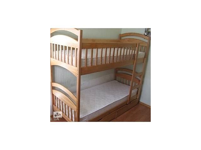 купить бу Новая Двухъярусная кровать Карина с ящиками в наличии ! в Киеве