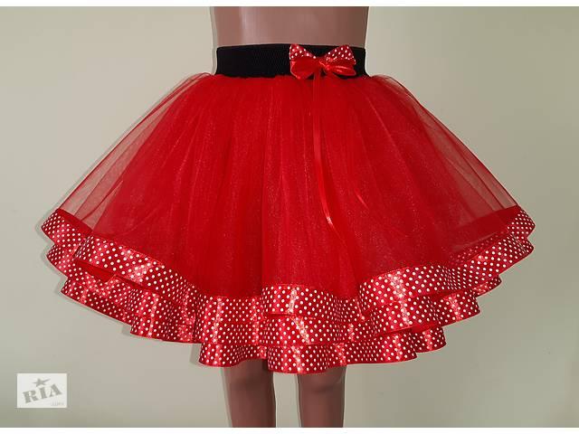 купить бу Детская фатиновая юбка на резинке, в ассортименте, модель № 80 в Хмельницком