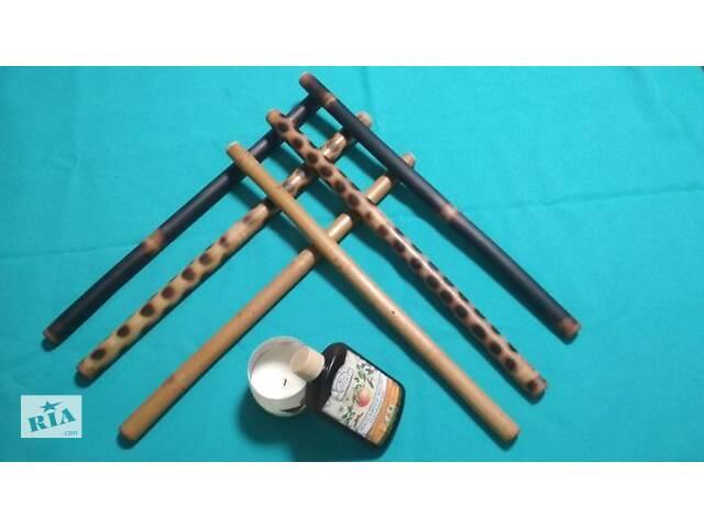бу Бамбукові палички для креольського масажу, Масажні віники в Запоріжжі
