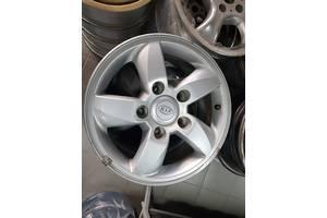 Б/у диски титаны для ВАЗ Niva Нива Киа Kia R16 5x139.7 7J за комплект привезены с Германии