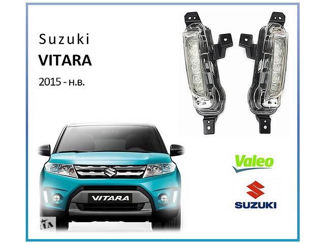 купить бу Оригинальные LED DRL Valeo ДХО для Suzuki Vitara 2015- в Харькове