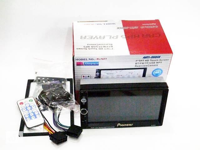 купить бу 2din Магнитола Pioneer Pi-7077 USB+BT+SD пульт на руль (короткая база) в Днепре (Днепропетровск)