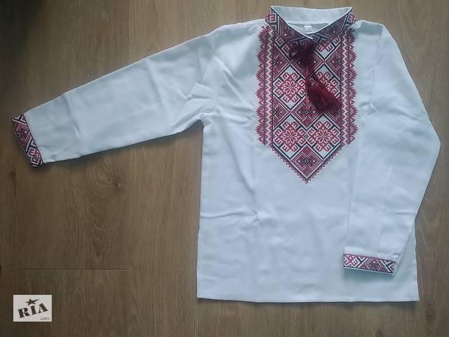 купить бу вишита сорочка на хлопчика,вишиванка на хлопчика,дитяча вишиванка,вышитая рубашка,вышиванка,вышитая рубашка на мальчика  в Киеве