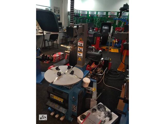Шиномонтажный станок стенд полуавтомат Best T521, 220/380 В, 10–21