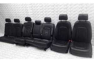 Салон Сидения черная кожа для Audi Q7 Ауди Ку7 2006-2015