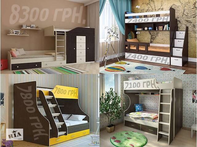 продам Двухъярусная кровать чердак. Двухъярусная кровать чердак. бу в Киеве