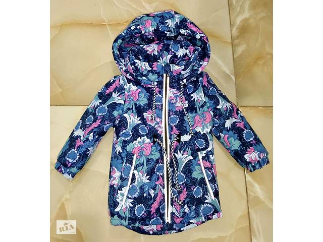 продам Осенняя термо куртка для девочек 1 - 8 лет бу в Киеве