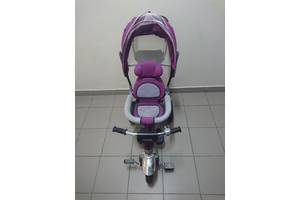 Дитячий триколісний велосипед-коляска Ardis Maxi Trike фіолетовий