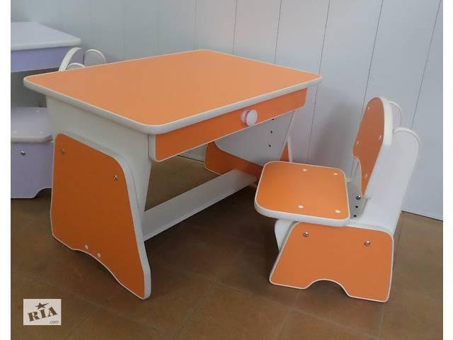 продам Детский столик и стульчик с регулировкой высоты.  Николаев. бу в Николаеве