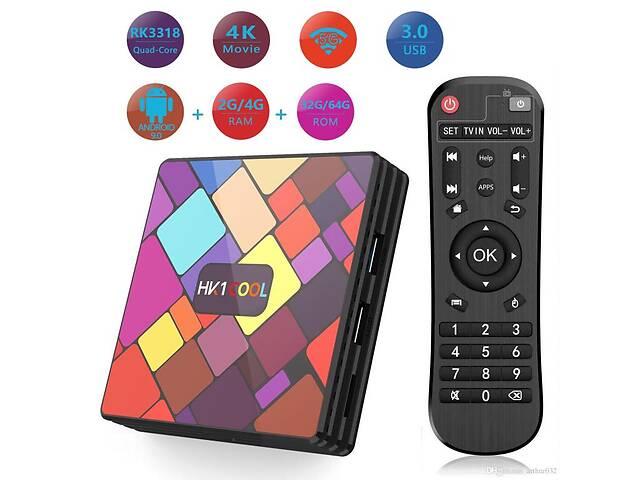 продам TV Box HK1 Cool 4Gb/32GB Android 9.0 Смарт приставка бу в Житомире