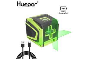 Huepar HP-5011G лазерный уровень нивелир зеленые линии OSRAM Li-ion 1500мАч
