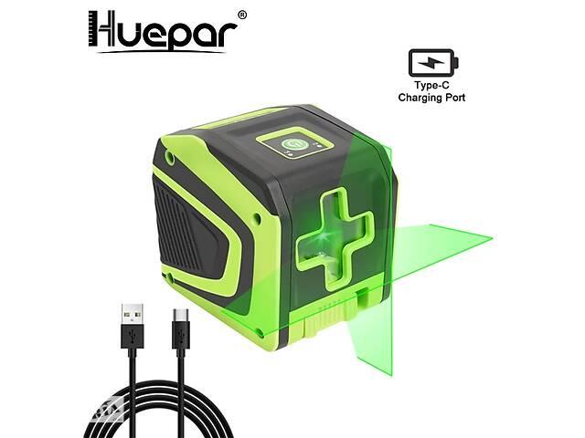 купить бу Huepar HP-5011G лазерный уровень нивелир зеленые линии OSRAM Li-ion 1500мАч в Луцке