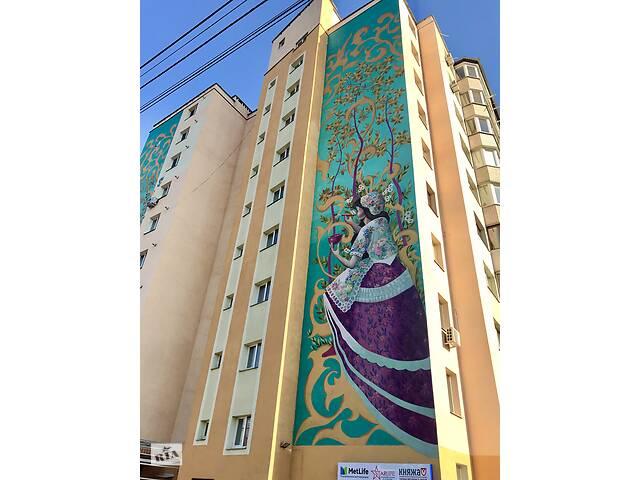 продам Роспись фасадов домов и ЖК, муралы, граффити бу  в Украине