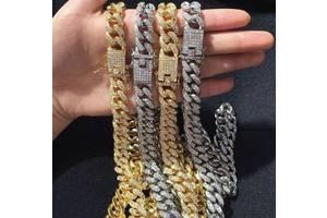 Хайповые цепочки / кубинские цепи / ожерелья / браслеты