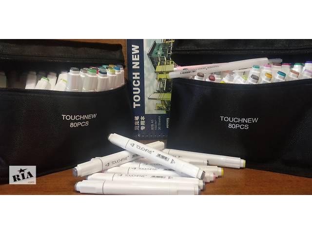 бу Набор маркеров TouchNew (TouchFive) 80 шт не Promarker / Copic Marker в Харькове