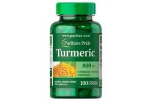 Специальный продукт Puritan's Pride Turmeric 800 mg 100 капсул