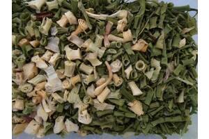 Сушеная зеленый лук