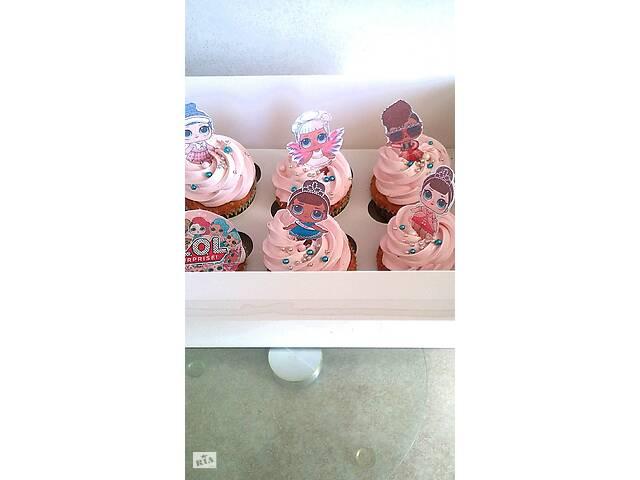 купить бу Изготовление капкейков с вафельной картинкой, на заказ в Мелитополе