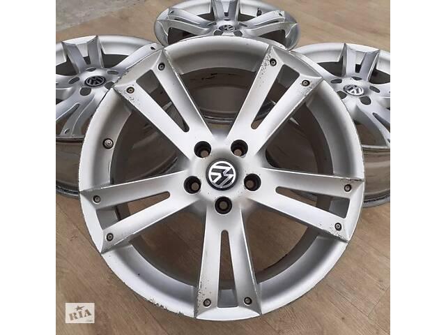бу Диски VW R18 5x112 8j ET35 Passat CC B7 B8 T-Roc Phaeton Tiguan Jetta Skoda Octavia A5 A7 Superb Yeti Karoq  Kodiaq Audi в Львове
