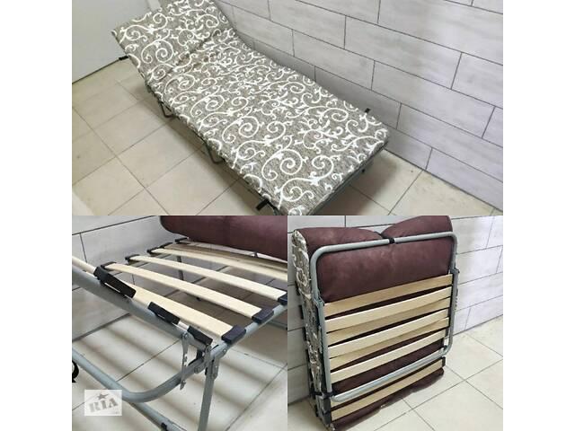 продам Раскладушка c матрасом Нова, кровать на ламелях бу в Днепре (Днепропетровск)
