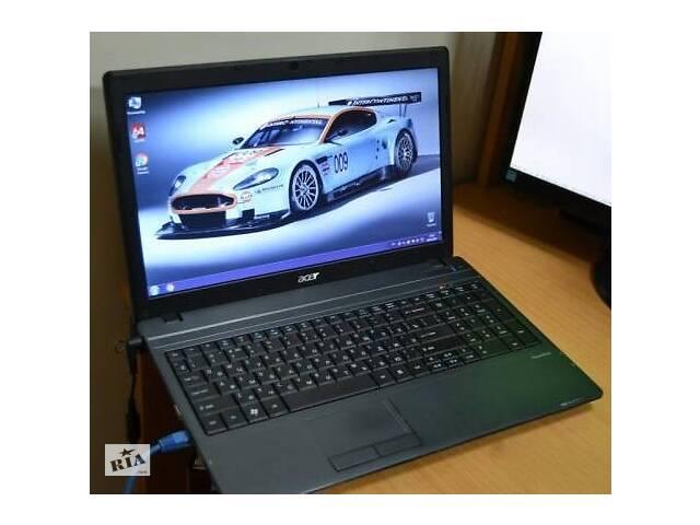 купить бу Ноутбук Acer TravelMate 5740G (танки, дота). в Киеве