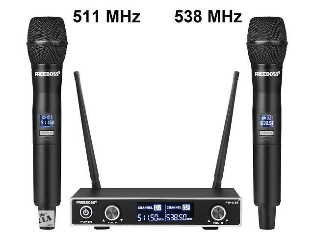 бу Радиомикрофон Freeboss FB-U35 Радио микрофон беспроводной Радиосистема UHF в Каменском (Днепродзержинск)