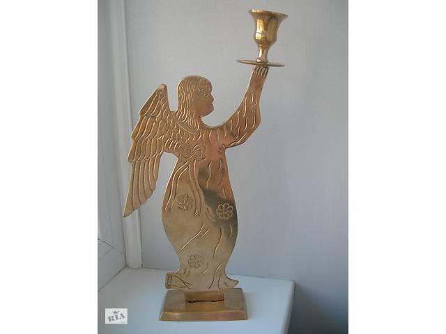 продам Подсвечник, Ангел, бронза, Германия, ручной работы бу в Киеве