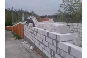 Потрібні різноробочі на будівництво с.Пірогова 50 час.