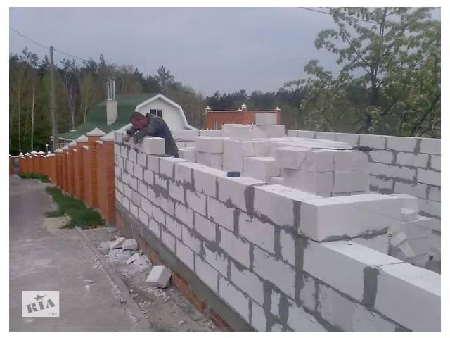 Потрібні камінщіки для кладки газоблока с.Пірогова 150 куб- объявление о продаже  в Винницкой области