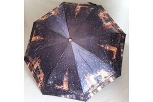 Женский зонт Zest 83744 сатин,полный автомат, складной.