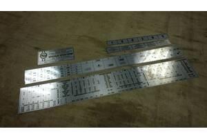 Станок 1к62 таблица резьб, шильды, таблички
