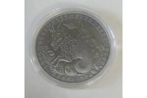 Знаки зодиака, сувенирная монета в стиле ретро. Китай.