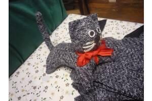 Ткань пальтовая (кусочки) для пошива игрушки.