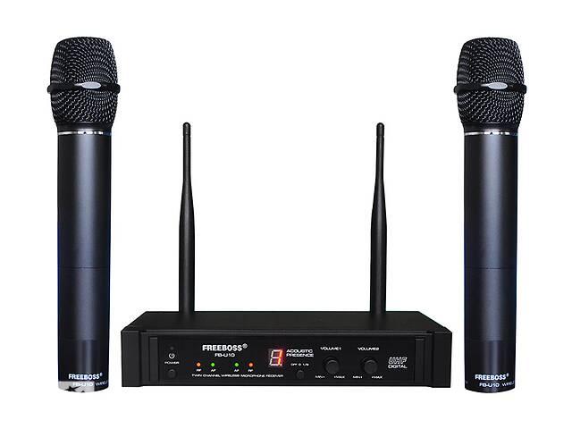 продам Радиомикрофон FREEBOSS FB-U10 (Металлический) Радиосистема Радио микрофон беспроводной UHF бу в Каменском (Днепродзержинск)
