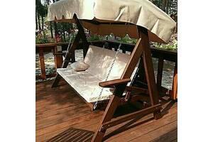 Садові гойдалки Монако - вуличні меблі VIP класу. Доставка по Україні!