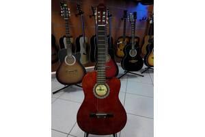 """Гитара классическая """" MAXTONE"""" CGC3910С+ремень в подарок !"""