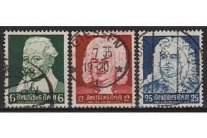 1935 - Рейх - Композитори Mi.573-75 _3,0 EU