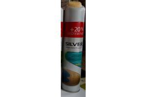 Спрей-краска-восстановитель для обуви Silver 300 мл бесцветный - восстановление цвета - для нубука и замши