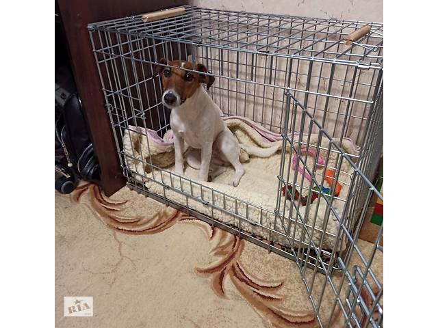 продам Усиленная клетка, переноска, вольер для собак №4, 75х50х52h см бу в Киеве