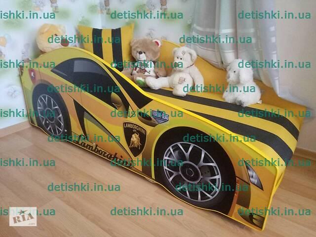 купить бу детская кровать машина кроватка машинка для мальчика для девочки диванчик для детской комнаты в Киеве