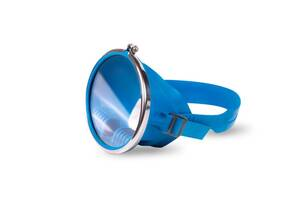 Маска для подводного плавания (глубинка синяя)новая Лучшая ЦЕНА