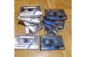 Аудіокасети , Аудіо кассети KONICA XR-I 90 и 60 . Японія.