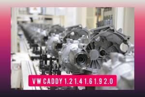 КПП VW CADDY 2004-2020 TDI TSI 1.2 1.4 1.6 1.8 1.9 2.0 Кадді Кадди Коробка передач 1,2 1,4 1,6 1,9 2,0 Купить Мкпп